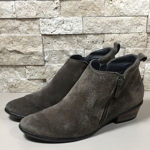 Paul Green Jillian Brown Suede Ankle Bootie